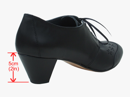 picture showing EVE's cuban heel